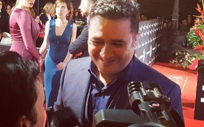 El actor @secundelarosa #Elbar en la #alfombraroja #20Festivalmalaga