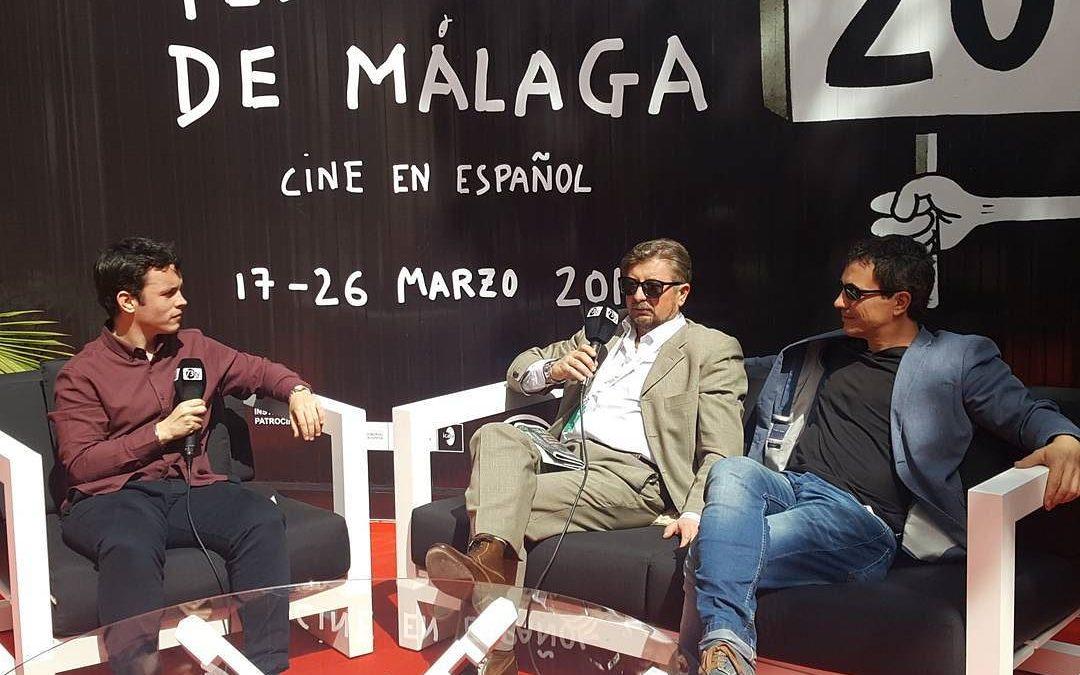 Hablamos de la película #ManiacTales con su director #Rodrigosancho y productor @kikeandale #20Festivalmalaga #Fundidoanegro