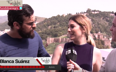 Blanca Suárez y Mario Casas, visitan Fundido a Negro