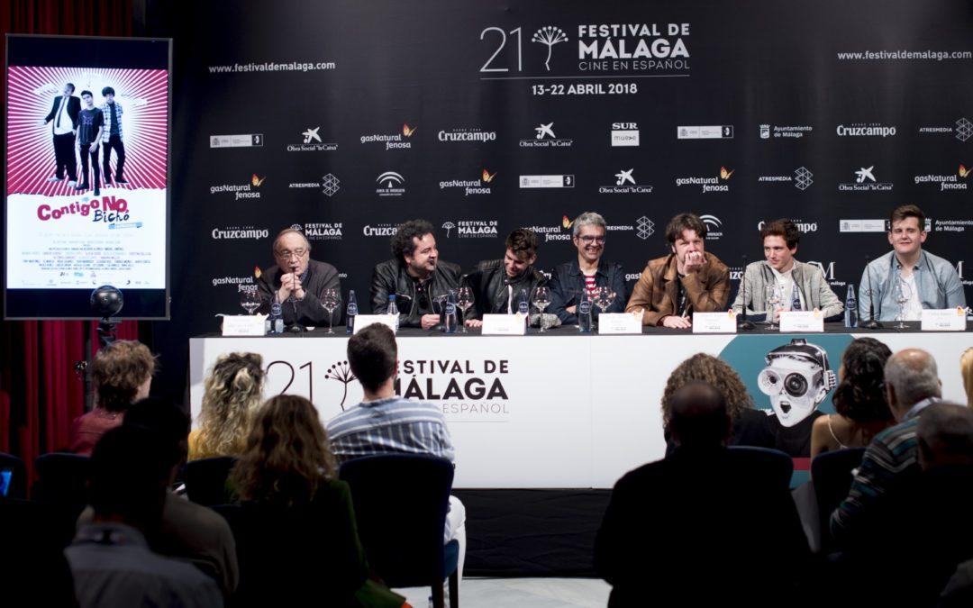 'Contigo no, bicho' vuelve al Festival con su puesta de largo en Málaga Premiere
