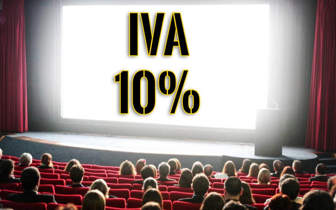 El Cine está de celebración: Nos bajan el IVA!