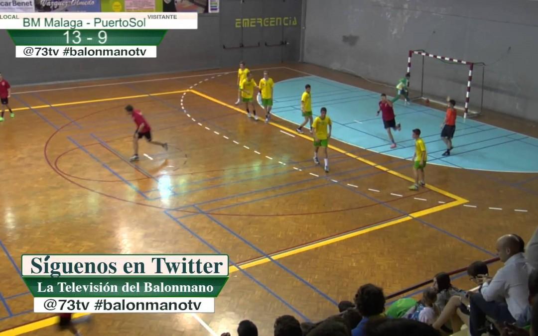 Balonmano TV Final Infantil Masculino Puertosol – BM Malaga