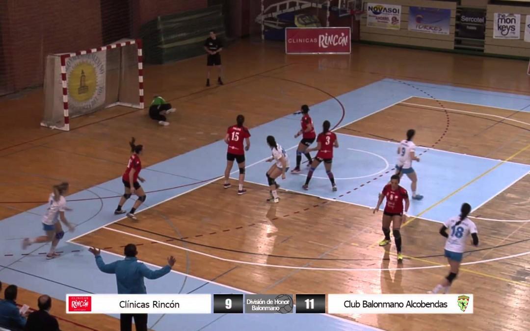 División de Honor Balonmano Femenino Clínicas Rincón – Club Balonmano Alcobendas 15ª jornada