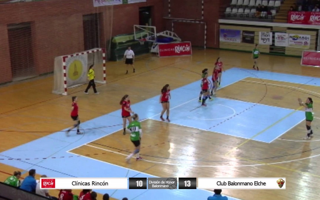 División de Honor Balonmano Femenino Clínicas Rincón – Club Balonmano Elche
