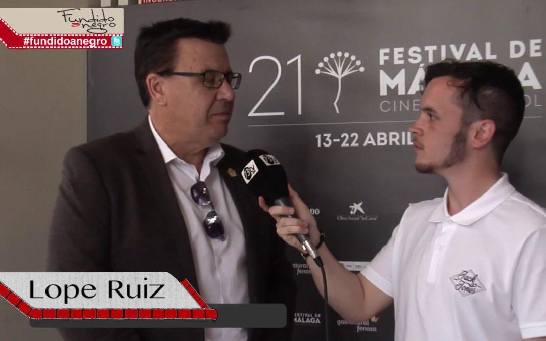 Entrevista a Lope Ruíz