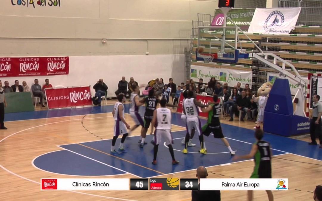 Liga Adecco Oro: Clínicas Rincón – Palma Air europa 21/03/15