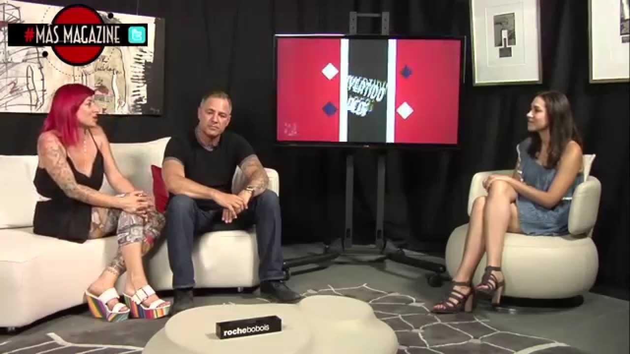 Mas Magazine 59 Mariló Fernández y McCoy de Tattoo Stone nos visitan